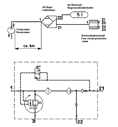 4324101020 r955205 air dryer aftermarket ,replaces for meritor wabco 1200 meritor abs wiring diagram at crackthecode.co