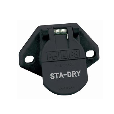 Phillips 7 Way Socket - Way Sta Dry Trailer Wiring - Phillips 7 Way Socket