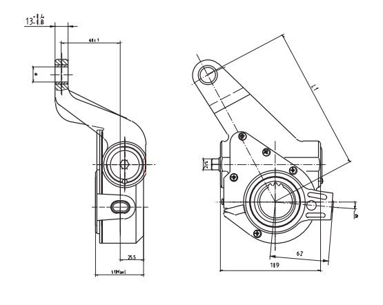 automatic-slack-adjuste-25-spline-cad