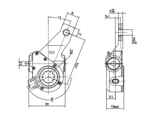 automatic-slack-adjuster-10078-cad