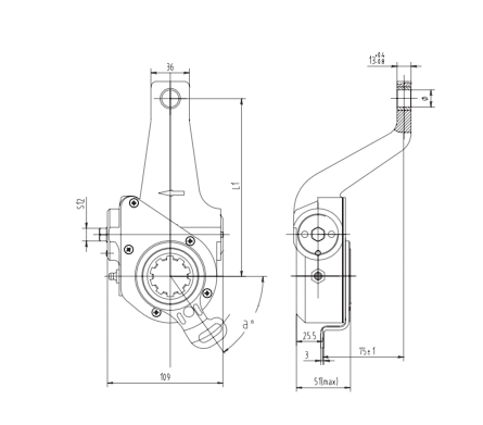 automatic-slack-adjuster-3049-cad