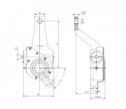 automatic-slack-adjuster-3050-cad