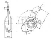 automatic-slack-adjuster-3202-cad