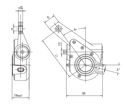 automatic-slack-adjuster-3226-cad