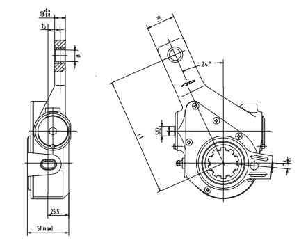 automatic-slack-adjuster-3861-cad