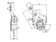 automatic-slack-adjuster-3863-cad