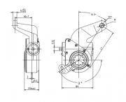 automatic-slack-adjuster-4003-cad