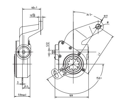 automatic-slack-adjuster-4004-cad