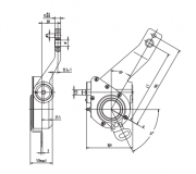 automatic-slack-adjuster-4008-cad