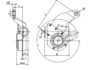 automatic-slack-adjuster-4018-cad