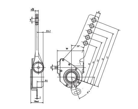 automatic-slack-adjuster-4032-cad