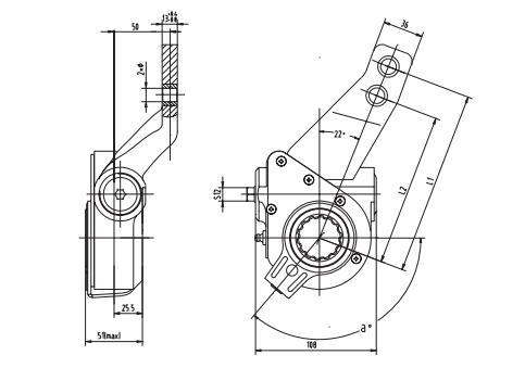 automatic-slack-adjuster-4040-cad