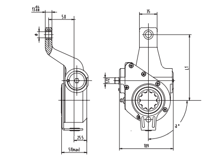 automatic-slack-adjuster-4050-cad
