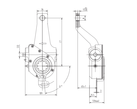 automatic-slack-adjuster-4084-cad