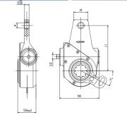 automatic-slack-adjuster-4104-cad