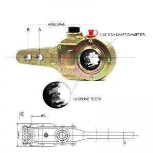 Bendix-278302-Manual-Slack-Adjuster