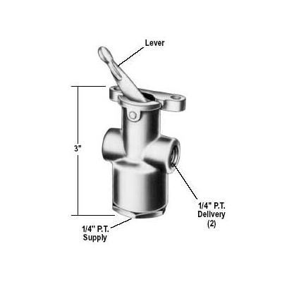 bendix-tw-3-lever-control-valve