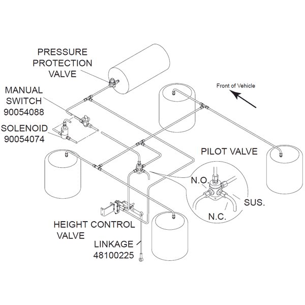Air Bag Dump Valve Schematic - Wiring Diagram Read  Way Valve Schematic on