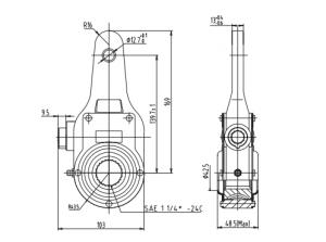 haldex-kn54000-manual-slack-adjuster