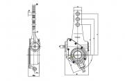 manual-slack-adjuster-10-spline-cad