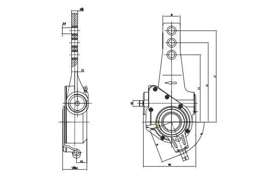 Manual Slack Adjuster -10 Spline