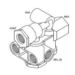 sealco-110500-spring-brake-control-valve