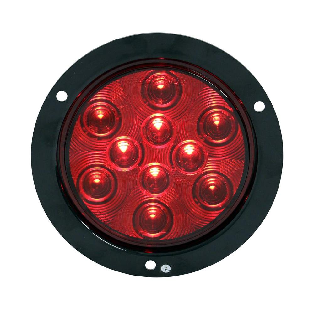 Pro Led Red 4 U2033 Round Surface