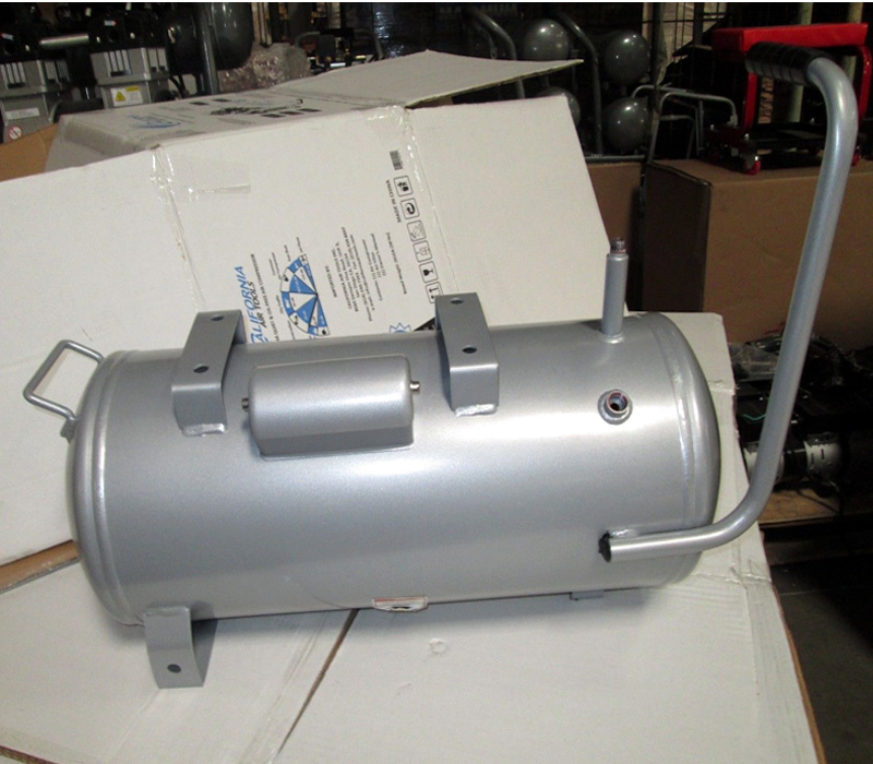 Gallon aluminum steel air compressor tank