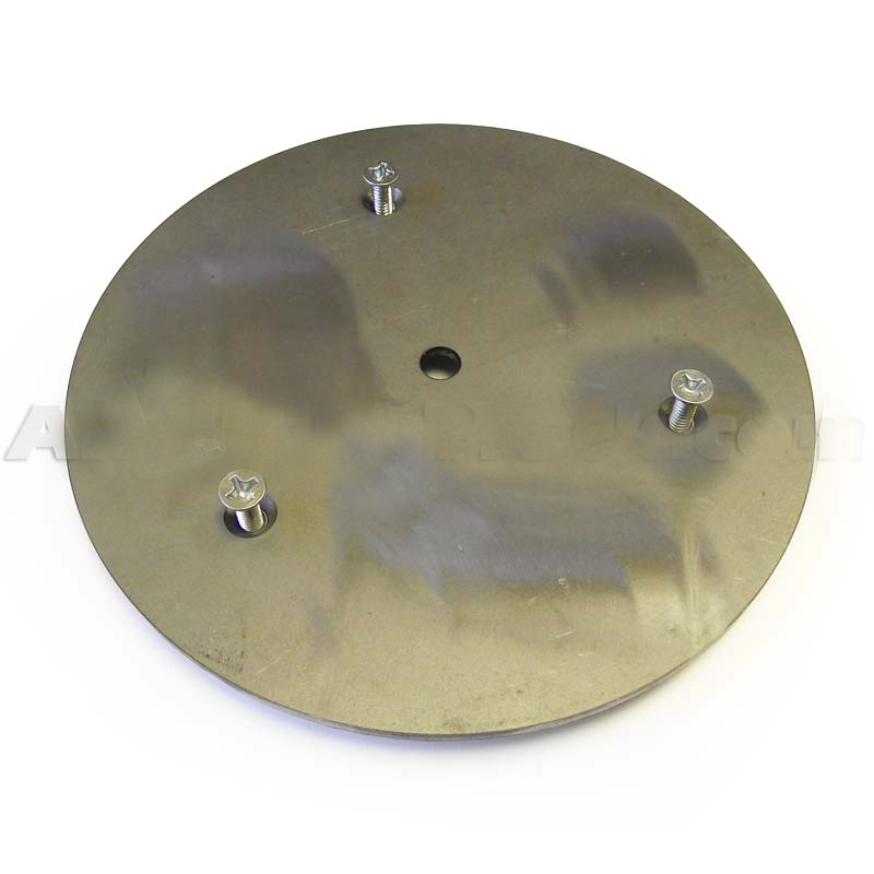 Steel Adapter Plate For The Brk1 Mirror Mount Warning