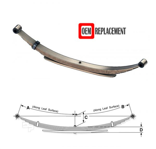 chevy-gmc-c3500-rear-oem-leaf-spring