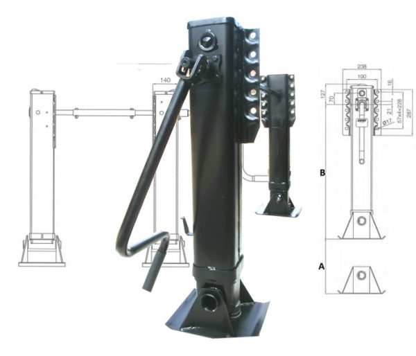 jost-telescopic-landing-gear-c200-series