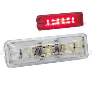 red-long-rectangular-led-marker-light
