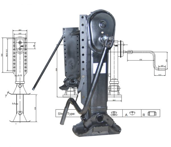 replacement-saf-holland-landing-gear-80t