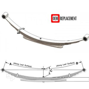 Motorhome Chassis Leaf Springs Suppliers & Manufacturers