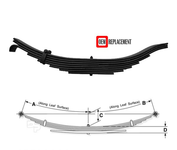 tra-2260-heavy-duty-leaf-spring