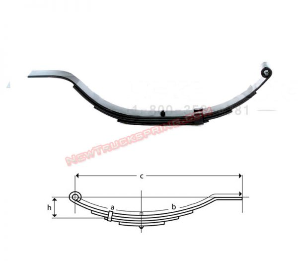 un015-flat-end-trailer-leaf-spring