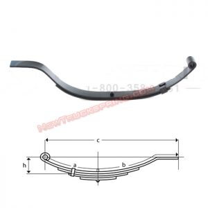 una013-flat-end-trailer-leaf-spring