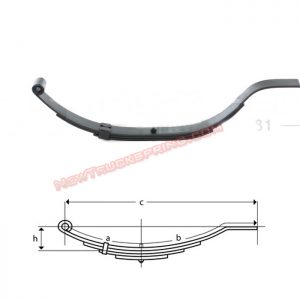 una014-flat-end-trailer-leaf-spring