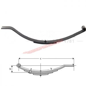 una018-flat-end-trailer-leaf-spring