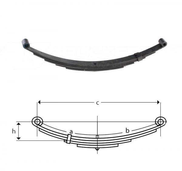 una036-double-eye-trailer-leaf-spring