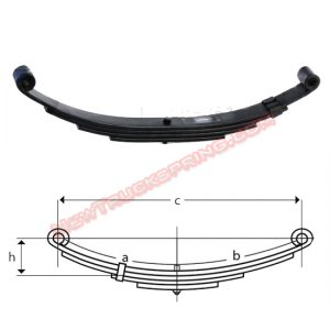 una079-double-eye-trailer-leaf-spring