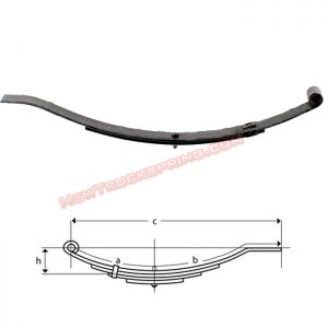 una202-flat-end-trailer-leaf-spring