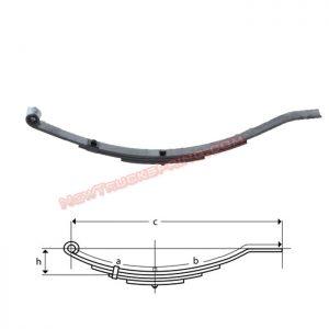 una203-flat-end-trailer-leaf-spring