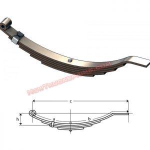 una207-flat-end-trailer-leaf-spring