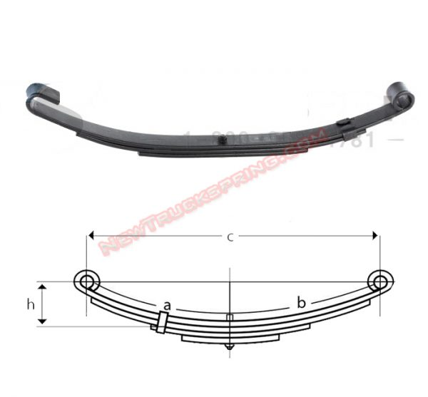 una262-open-eye-end-slipper-trailer-leaf-spring