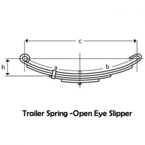 Open Eye Slipper Springs