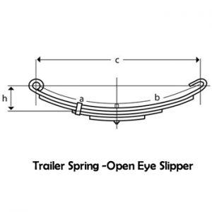 Open Eye Slipper Springs