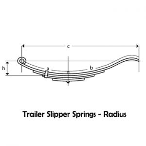 Radius End Slipper Springs