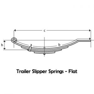 Flat End Slipper Spring