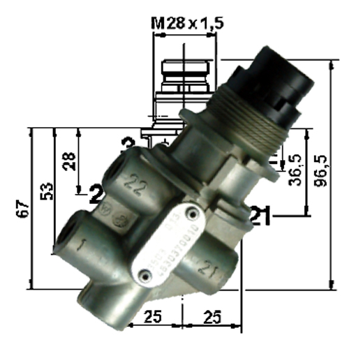 Wabco-Directional-Control-Valve-4630370010